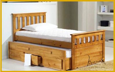 Wooden Guest Beds