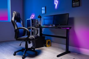 Flair Power B LED Gaming Desk